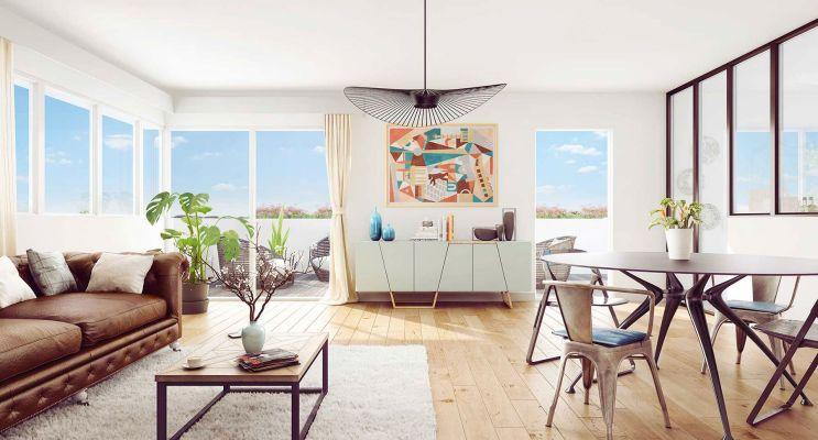 Photo n°3 du Résidence « Cubik » programme immobilier neuf en Loi Pinel à Paris