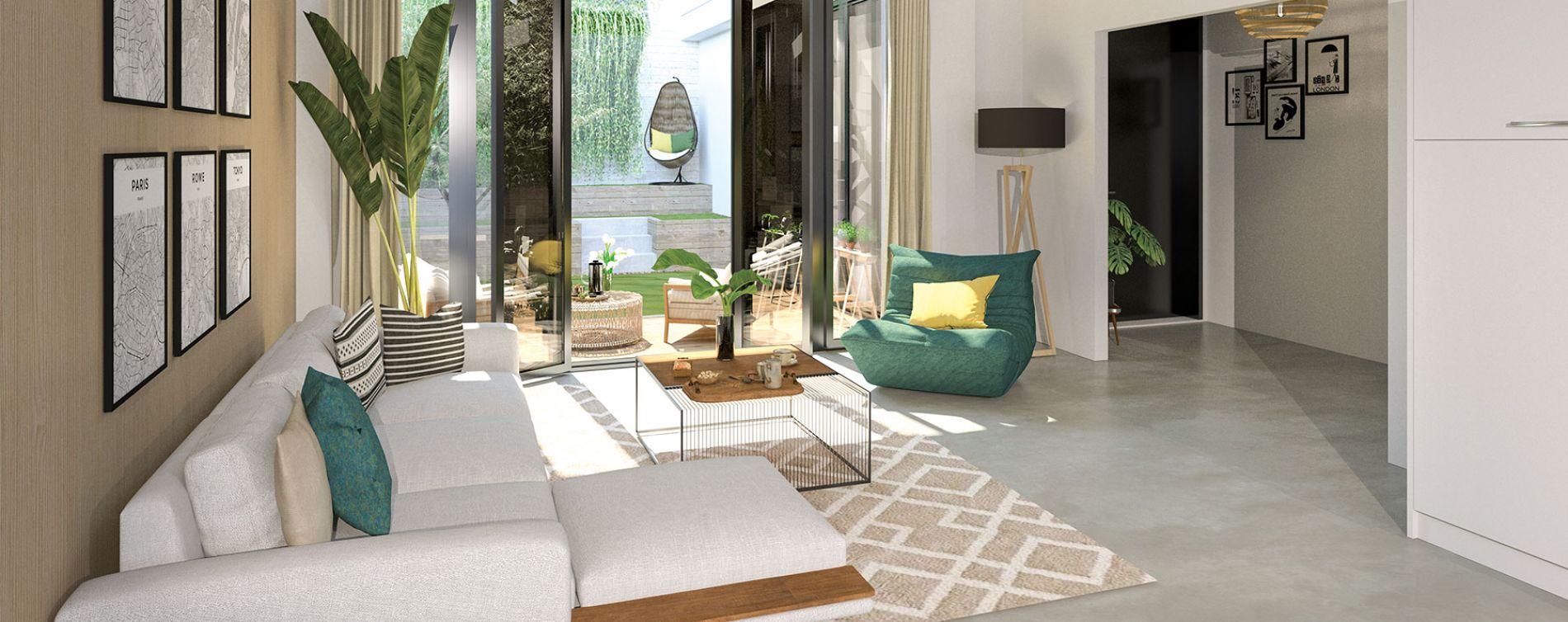 Paris : programme immobilier neuve « Le Triptyque » (3)