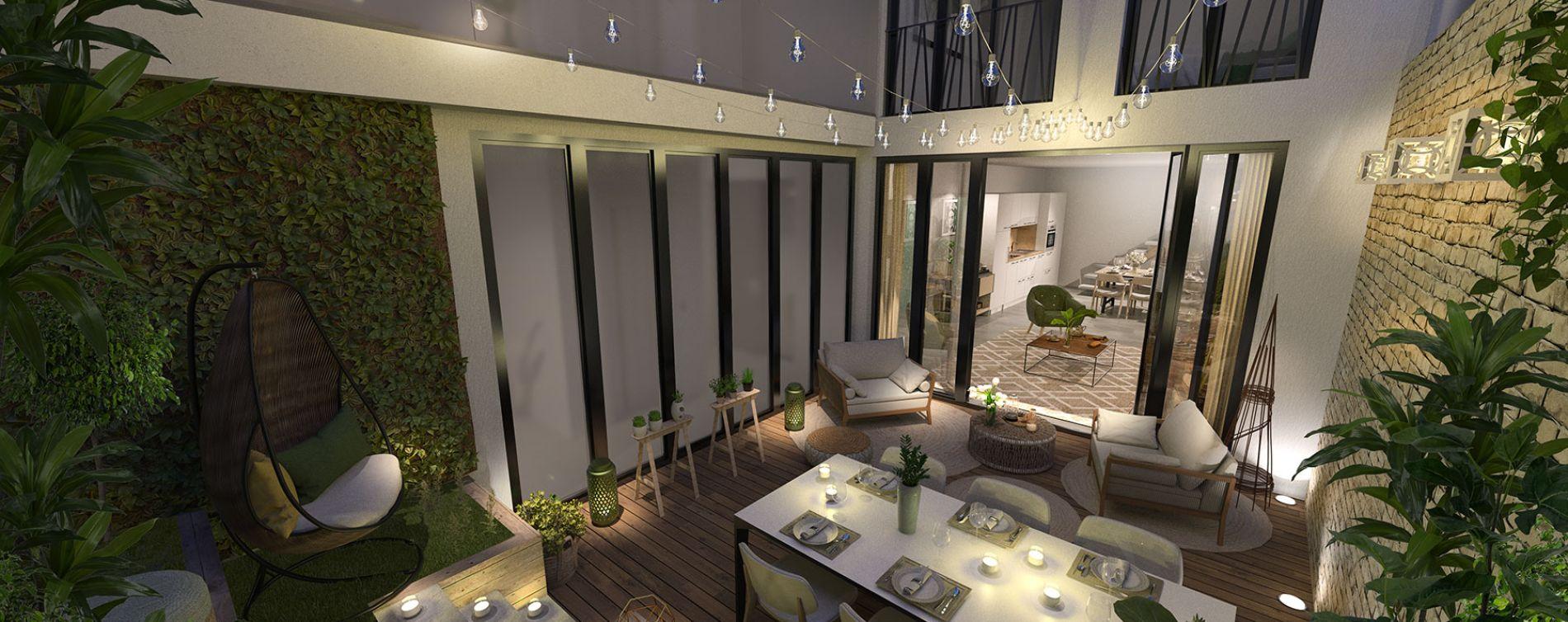 Paris : programme immobilier neuve « Le Triptyque » (4)