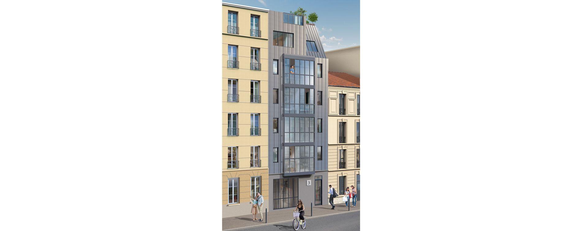 Paris : programme immobilier neuve « Le Triptyque » (5)