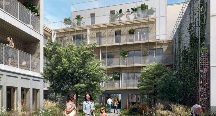 Photo du Résidence « L'Insolite » programme immobilier neuf en Loi Pinel à Paris