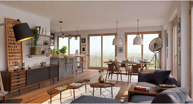 Résidence « Mon 18E » programme immobilier neuf en Loi Pinel à Paris n°3