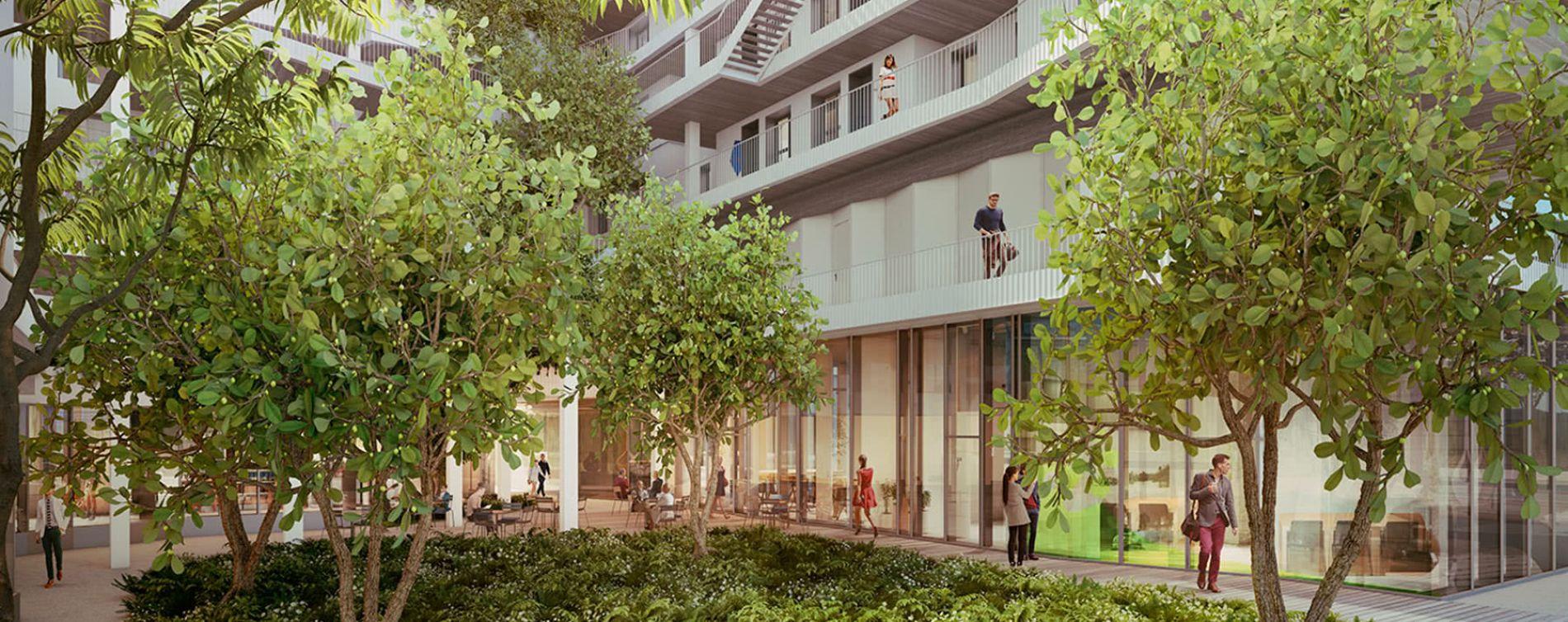 Paris : programme immobilier neuve « New G » en Loi Pinel