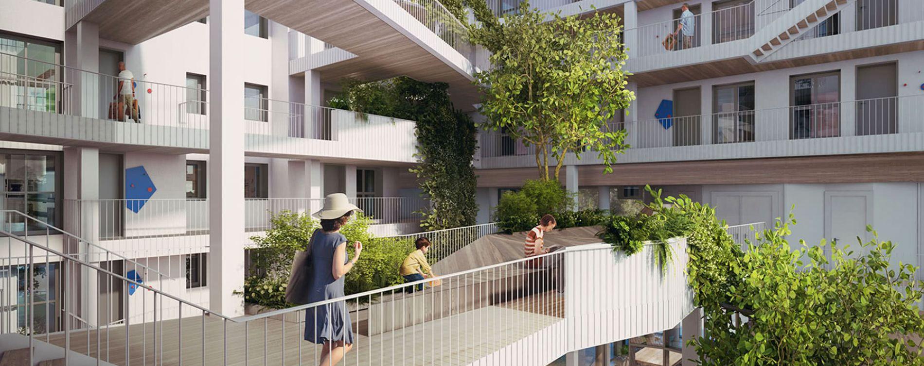 Paris : programme immobilier neuve « New G » en Loi Pinel (3)