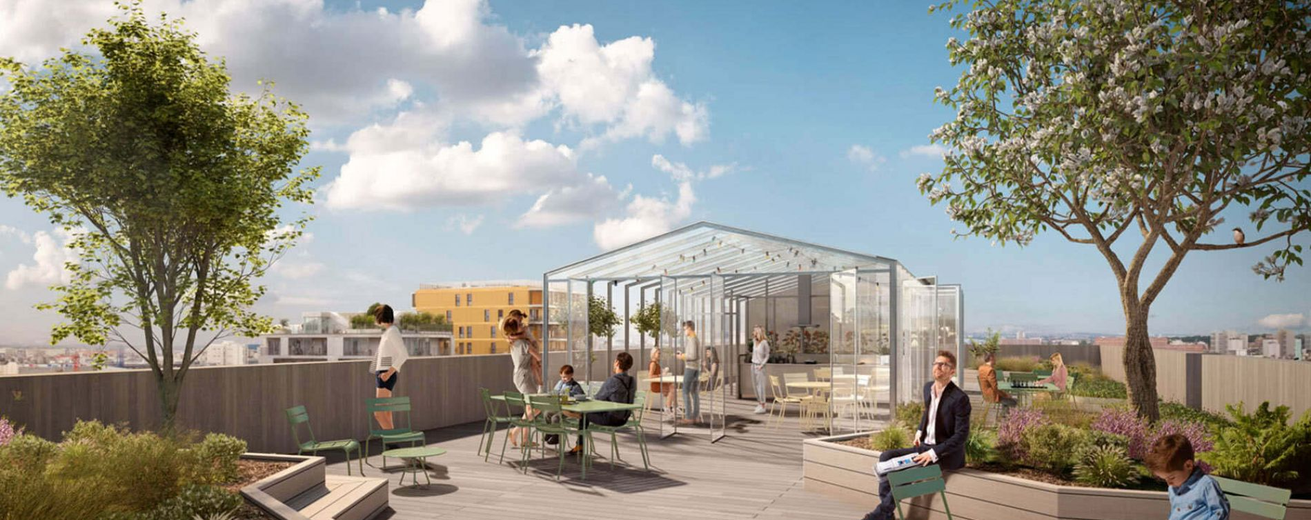 Paris : programme immobilier neuve « New G » en Loi Pinel (4)
