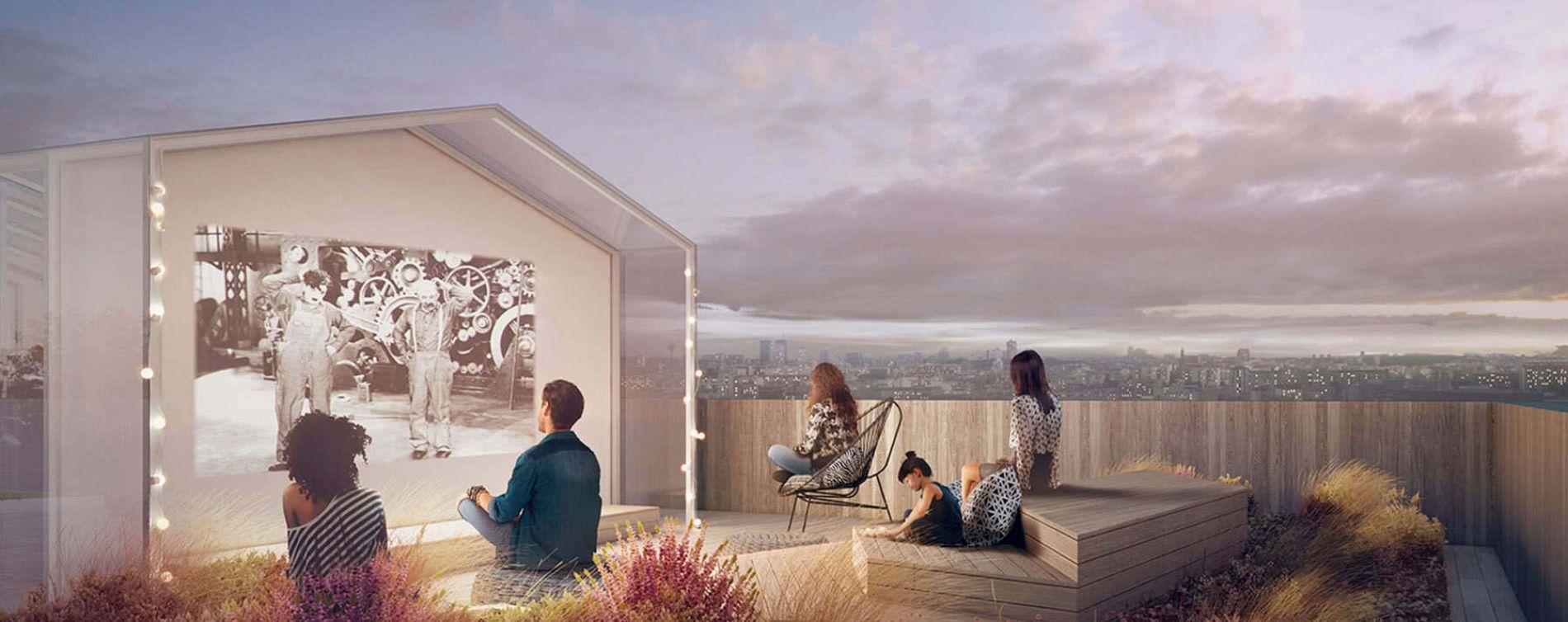 Paris : programme immobilier neuve « New G » en Loi Pinel (5)