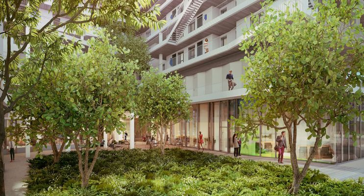 Paris : programme immobilier neuf « New G » en Loi Pinel