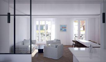 Résidence « Paris Bellevue » programme immobilier à rénover en Déficit Foncier à Paris n°1