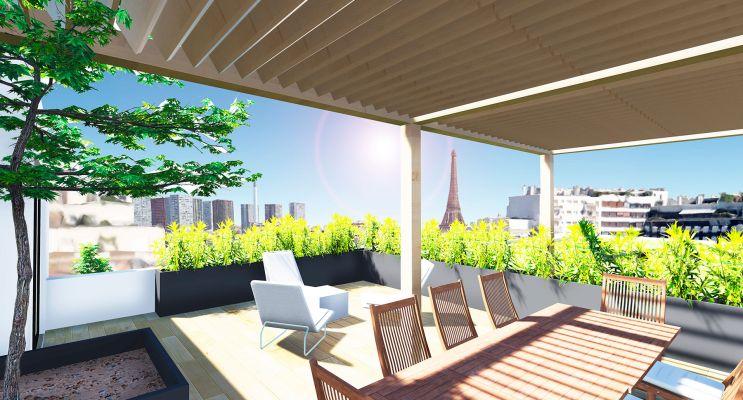 Photo du Résidence « Résidence Desnouettes » programme immobilier neuf à Paris