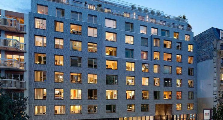 Photo du Résidence « Rue Petit » programme immobilier neuf en Loi Pinel à Paris