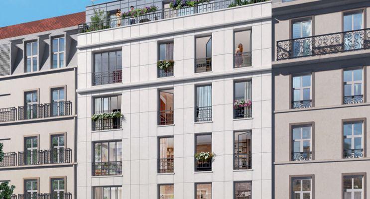 Paris : programme immobilier neuf « Villa Simonet » en Nue Propriété