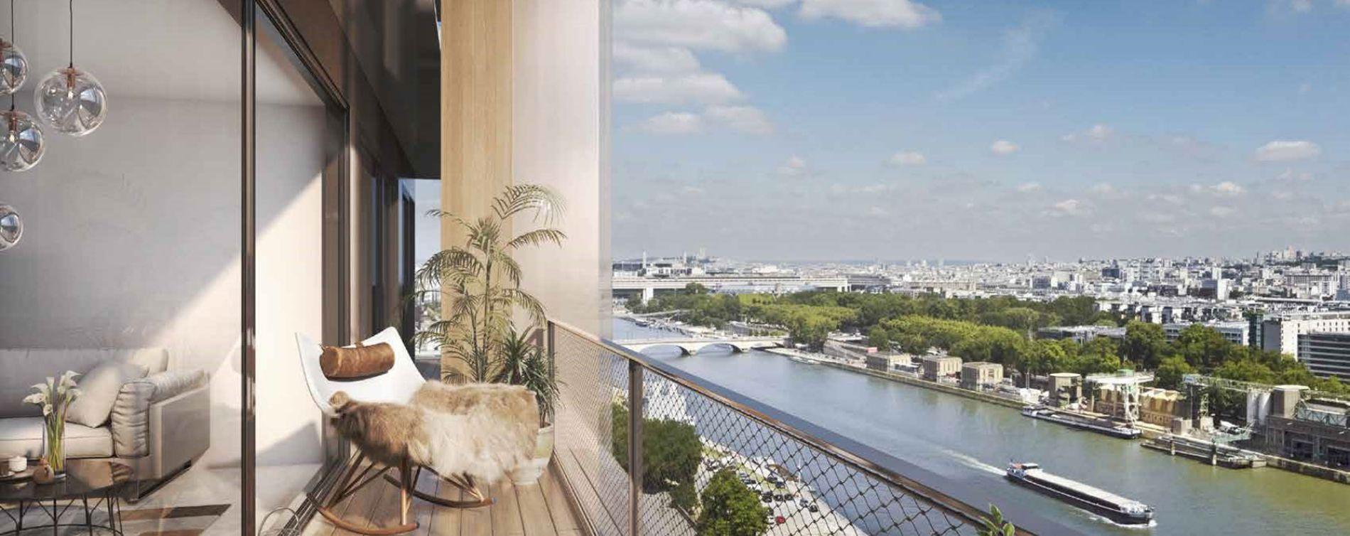 Paris : programme immobilier neuve « Wood Up » en Loi Pinel