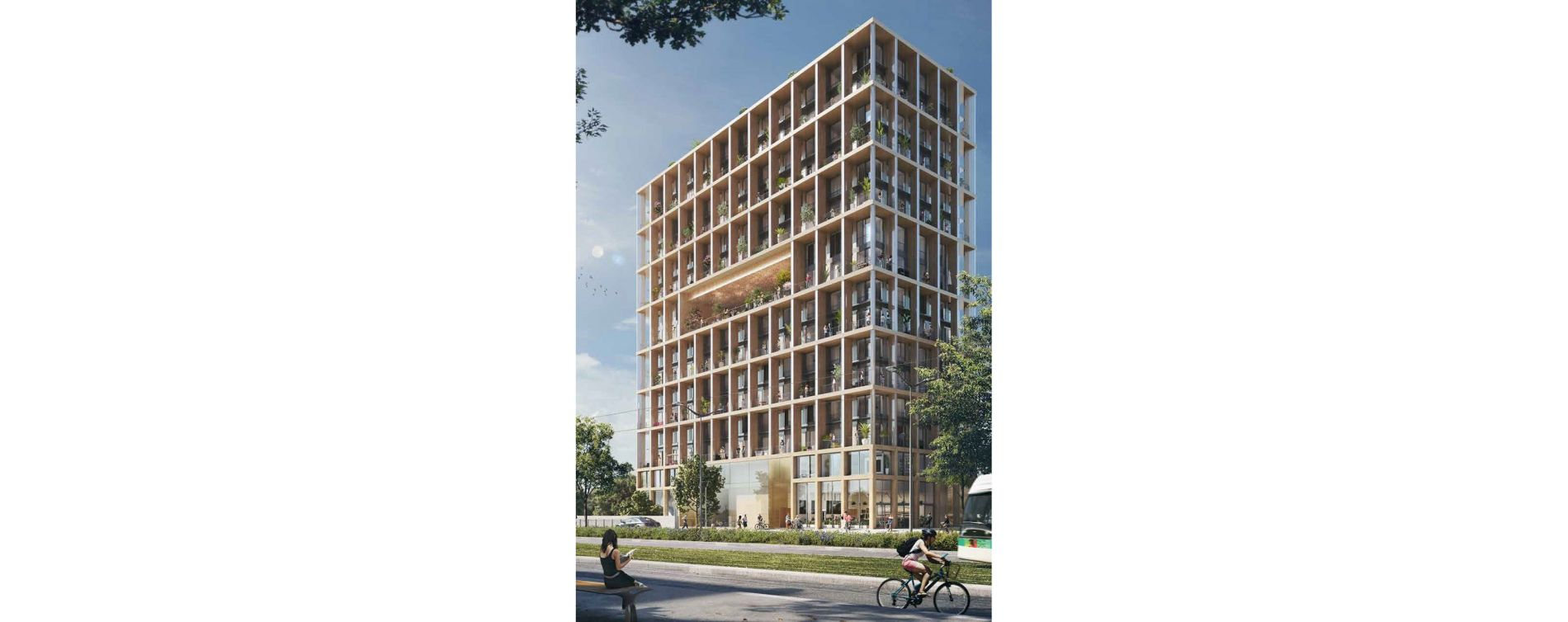 Paris : programme immobilier neuve « Wood Up » en Loi Pinel (5)