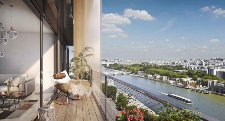 Paris : programme immobilier neuf « Wood Up » en Loi Pinel