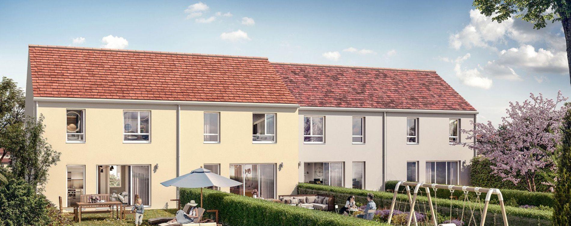 Boissise-le-Roi : programme immobilier neuve « Les Villas d'Orgenoy » en Loi Pinel