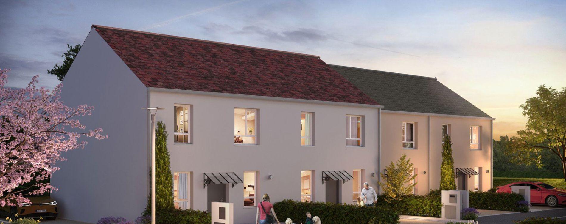 Boissise-le-Roi : programme immobilier neuve « Les Villas d'Orgenoy » en Loi Pinel (2)
