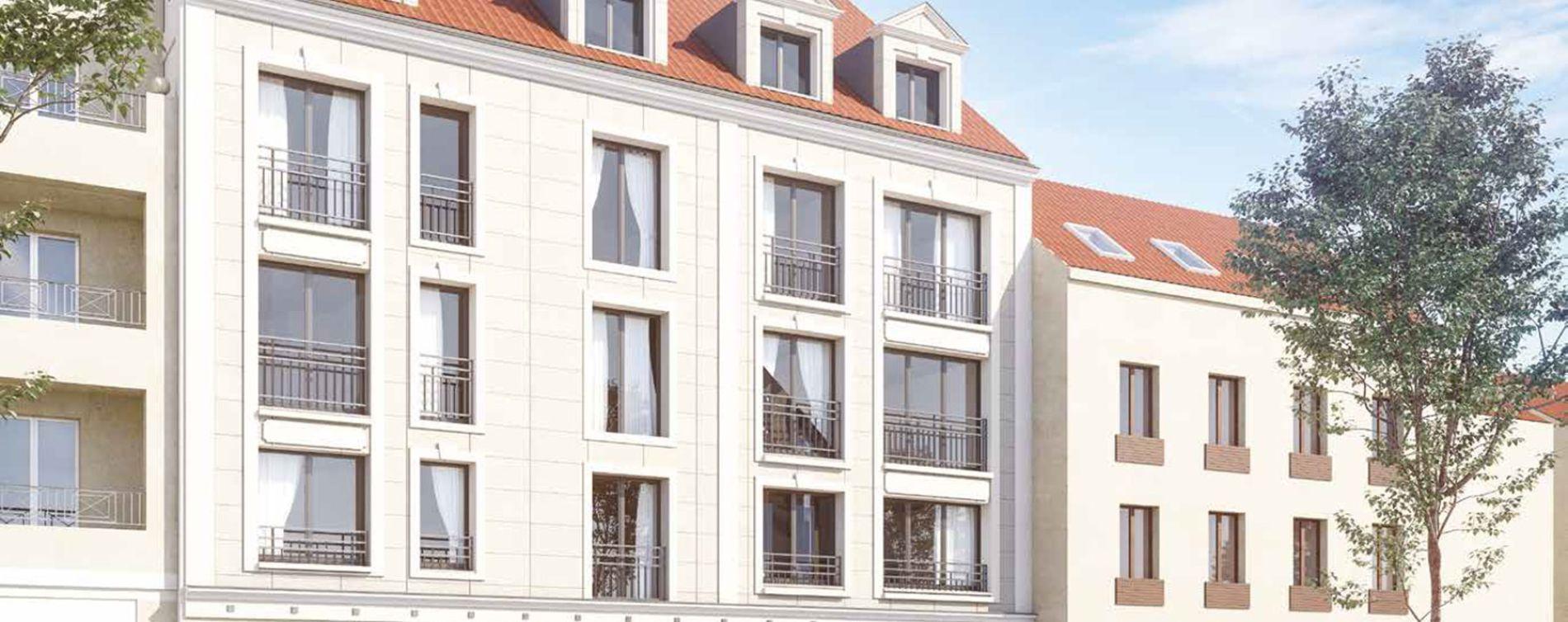 Brou-sur-Chantereine : programme immobilier neuve « Les Portes de Chelles » en Loi Pinel