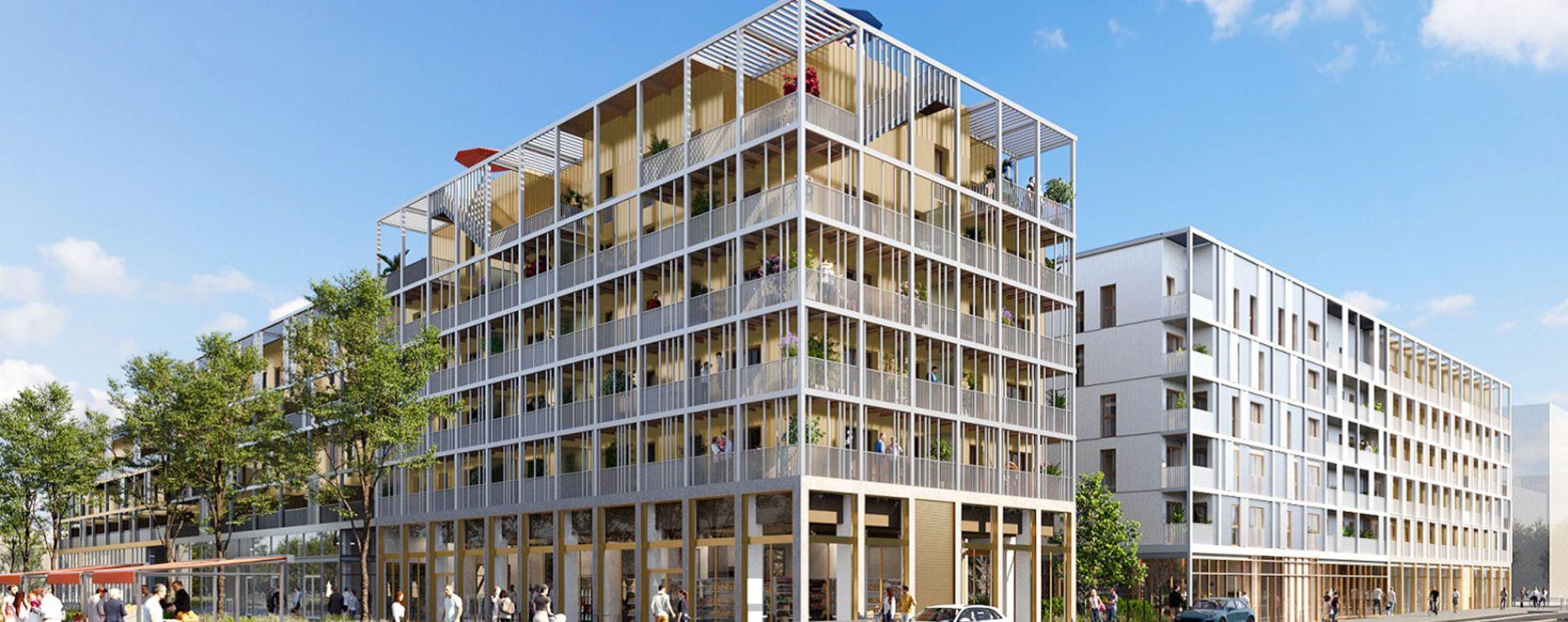 Résidence Agora Parc 2 à Bussy-Saint-Georges