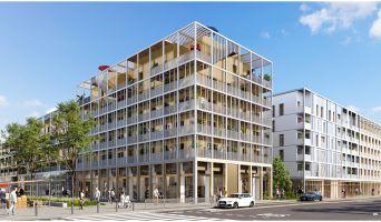 Bussy-Saint-Georges programme immobilier neuve « Agora Parc 2 » en Loi Pinel  (2)