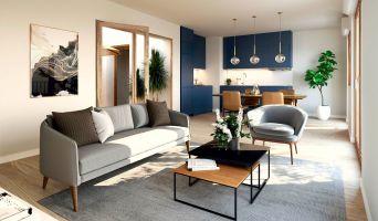 Bussy-Saint-Georges programme immobilier neuve « Agora Parc 2 » en Loi Pinel  (5)