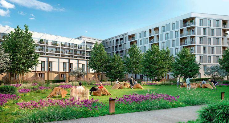 Photo du Résidence « Agora Parc 2 » programme immobilier neuf en Loi Pinel à Bussy-Saint-Georges
