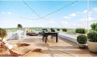 Résidence « Agora Parc » programme immobilier neuf en Loi Pinel à Bussy-Saint-Georges n°1