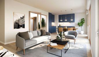 Résidence « Agora Parc » programme immobilier neuf en Loi Pinel à Bussy-Saint-Georges n°2