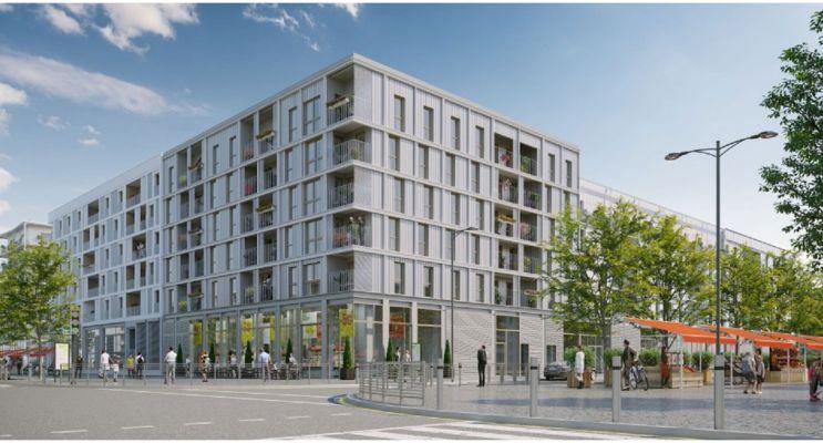 Photo du Résidence « Agora Parc » programme immobilier neuf en Loi Pinel à Bussy-Saint-Georges