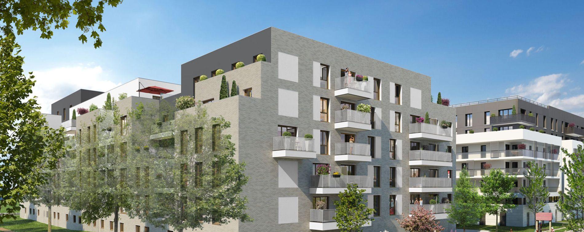 Bussy-Saint-Georges : programme immobilier neuve « Programme immobilier n°218733 » en Loi Pinel
