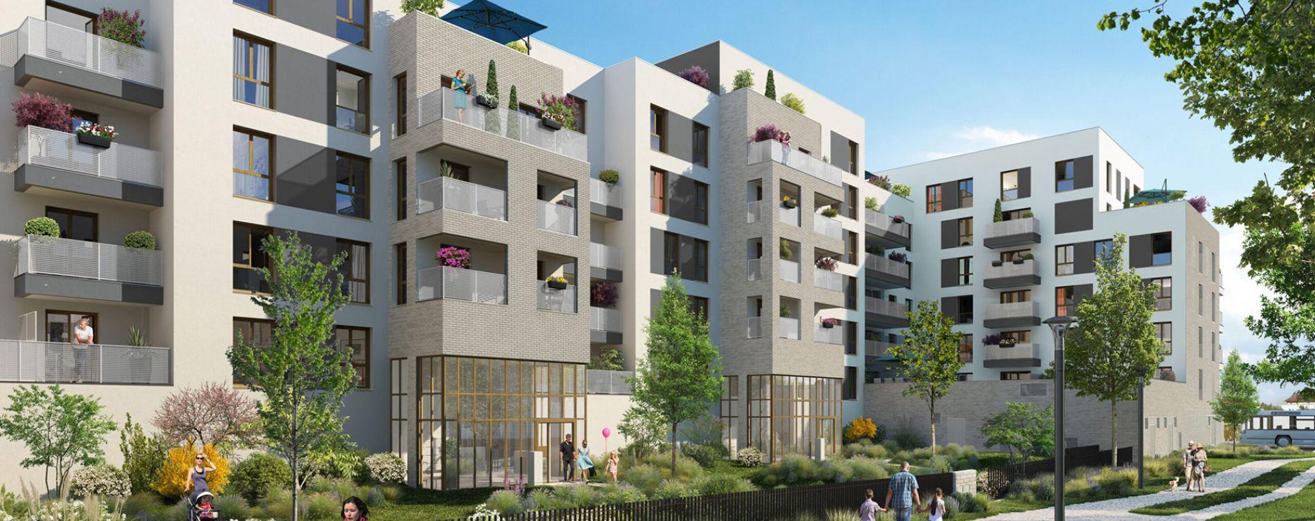Bussy-Saint-Georges : programme immobilier neuve « Programme immobilier n°218733 » en Loi Pinel (2)