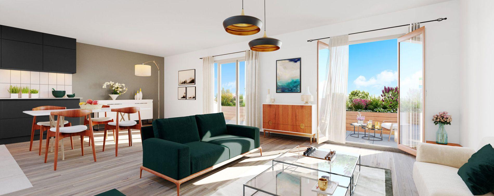 Bussy-Saint-Georges : programme immobilier neuve « Programme immobilier n°218733 » en Loi Pinel (5)
