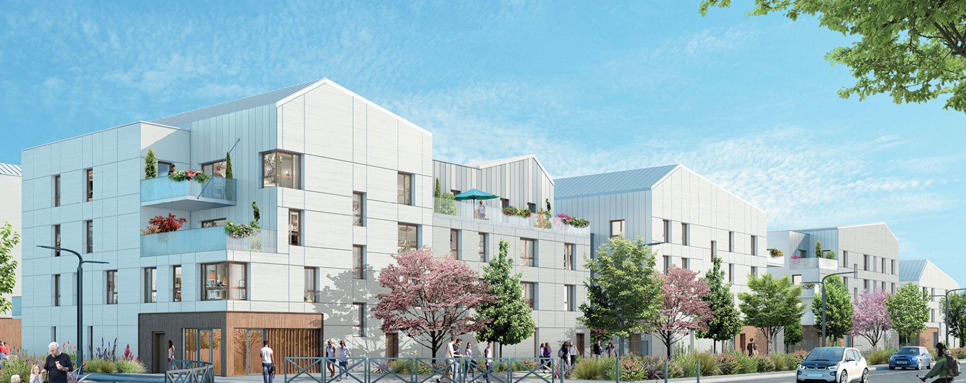 Bussy-Saint-Georges : programme immobilier neuve « Le Clos Guibert »