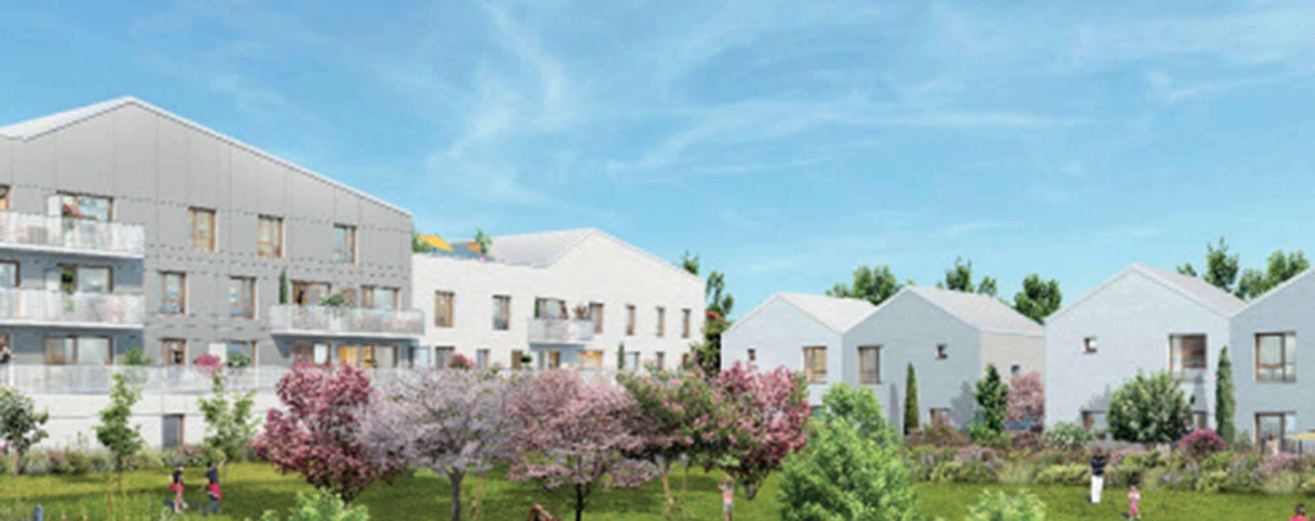 Bussy-Saint-Georges : programme immobilier neuve « Le Clos Guibert » (2)