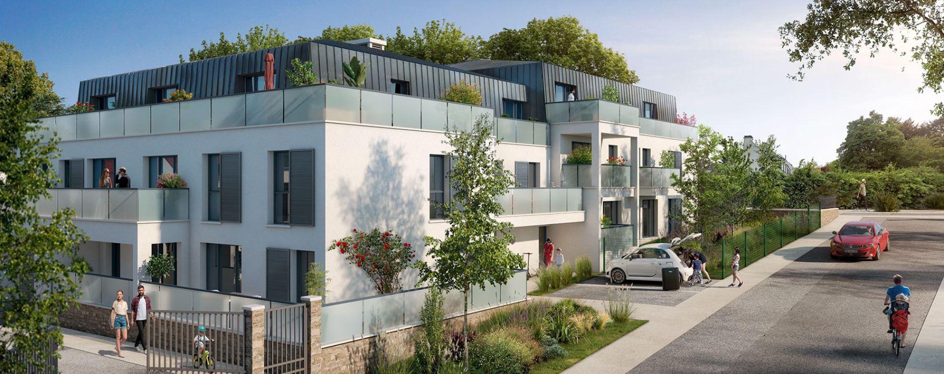 Cesson : programme immobilier neuve « Le Stendhal »