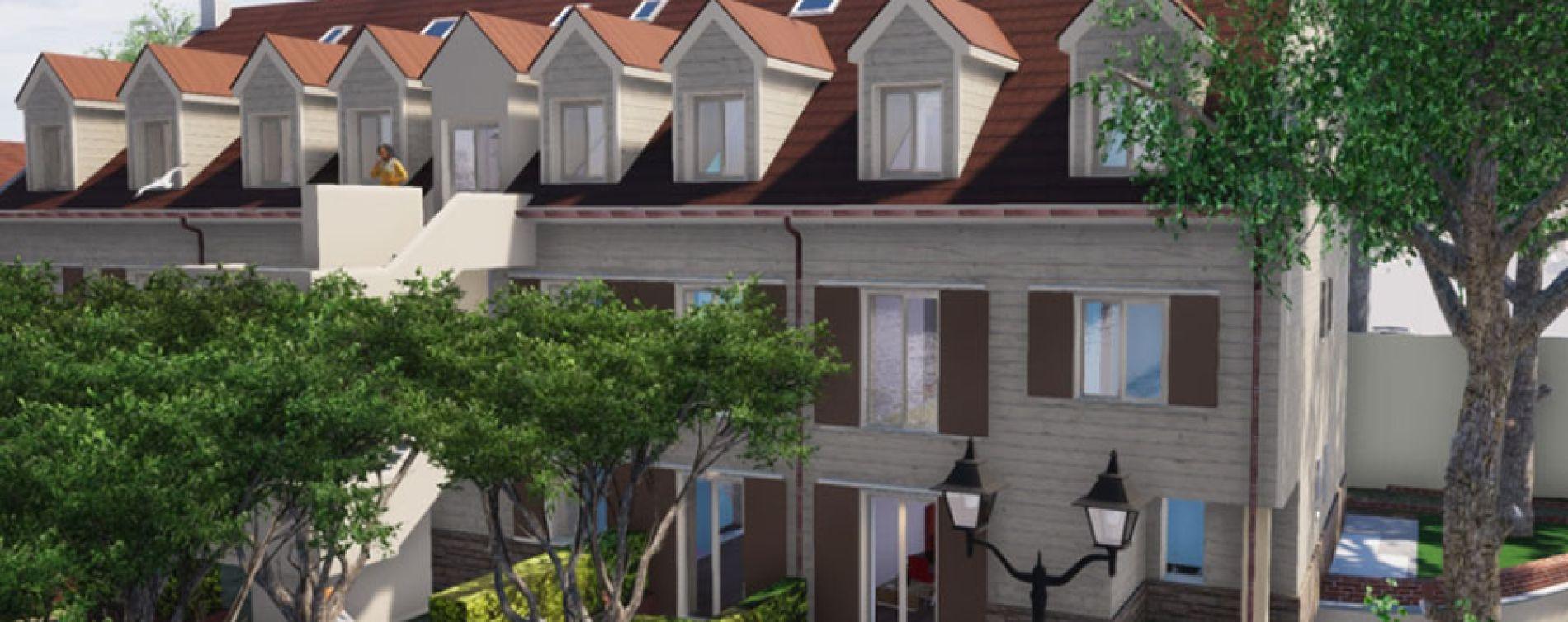 Chelles : programme immobilier à rénover « Bâtiment D - 10 Rue de Gournay » en Déficit Foncier