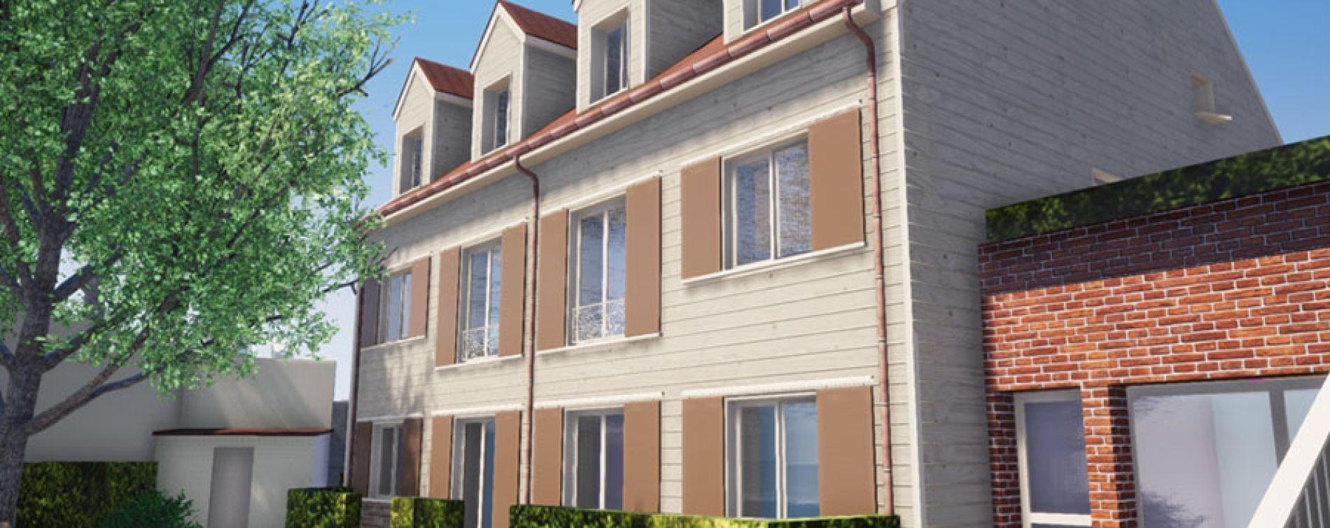 Chelles : programme immobilier à rénover « Bâtiment D - 10 Rue de Gournay » en Déficit Foncier (2)