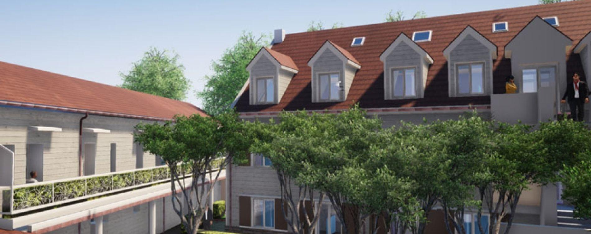 Chelles : programme immobilier à rénover « Bâtiment D - 10 Rue de Gournay » en Déficit Foncier (3)