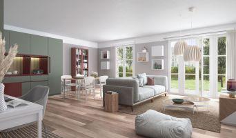 Chelles programme immobilier neuve « Faubourg Canal B »  (3)