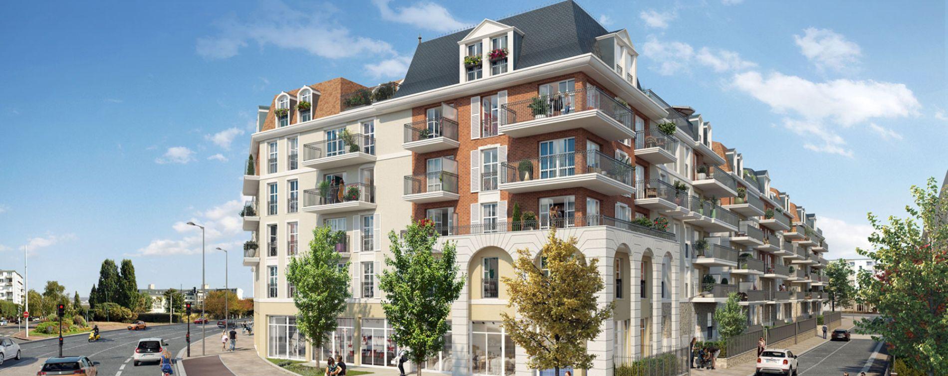 Chelles : programme immobilier neuve « Faubourg Canal »