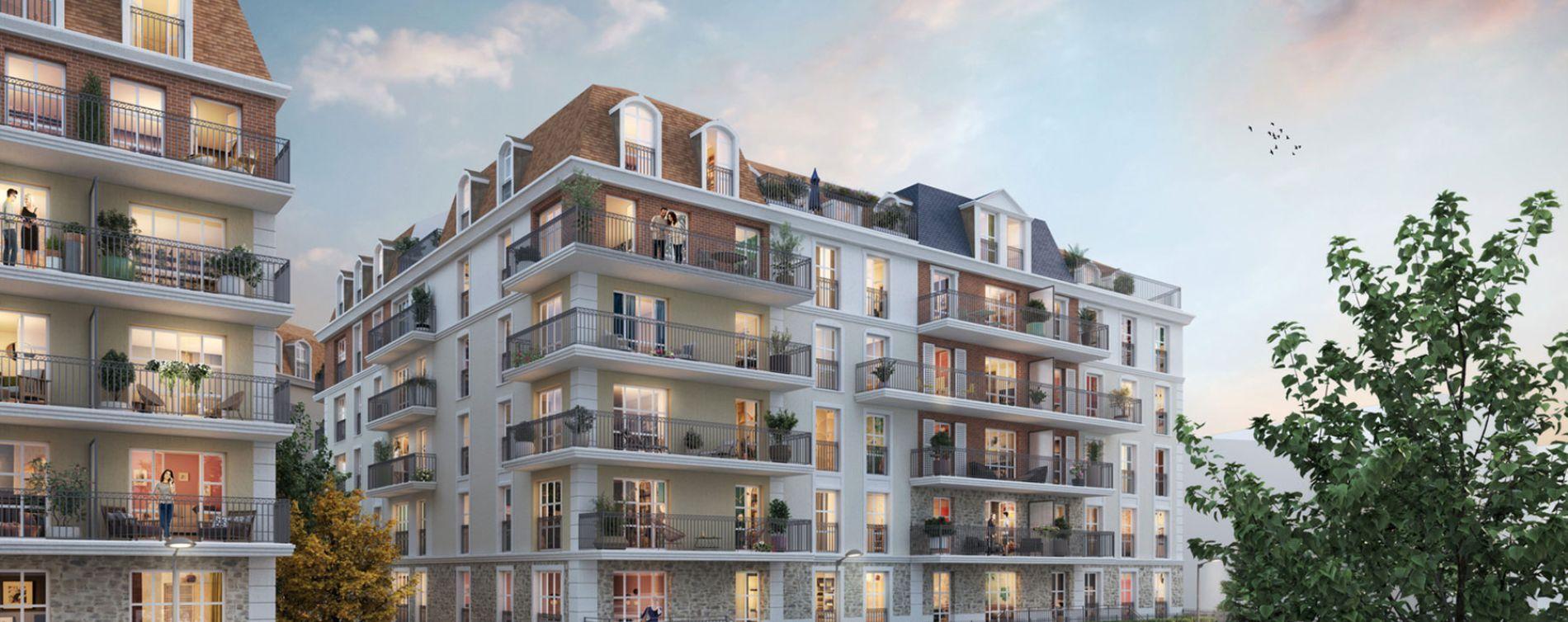 Chelles : programme immobilier neuve « Faubourg Canal » (2)