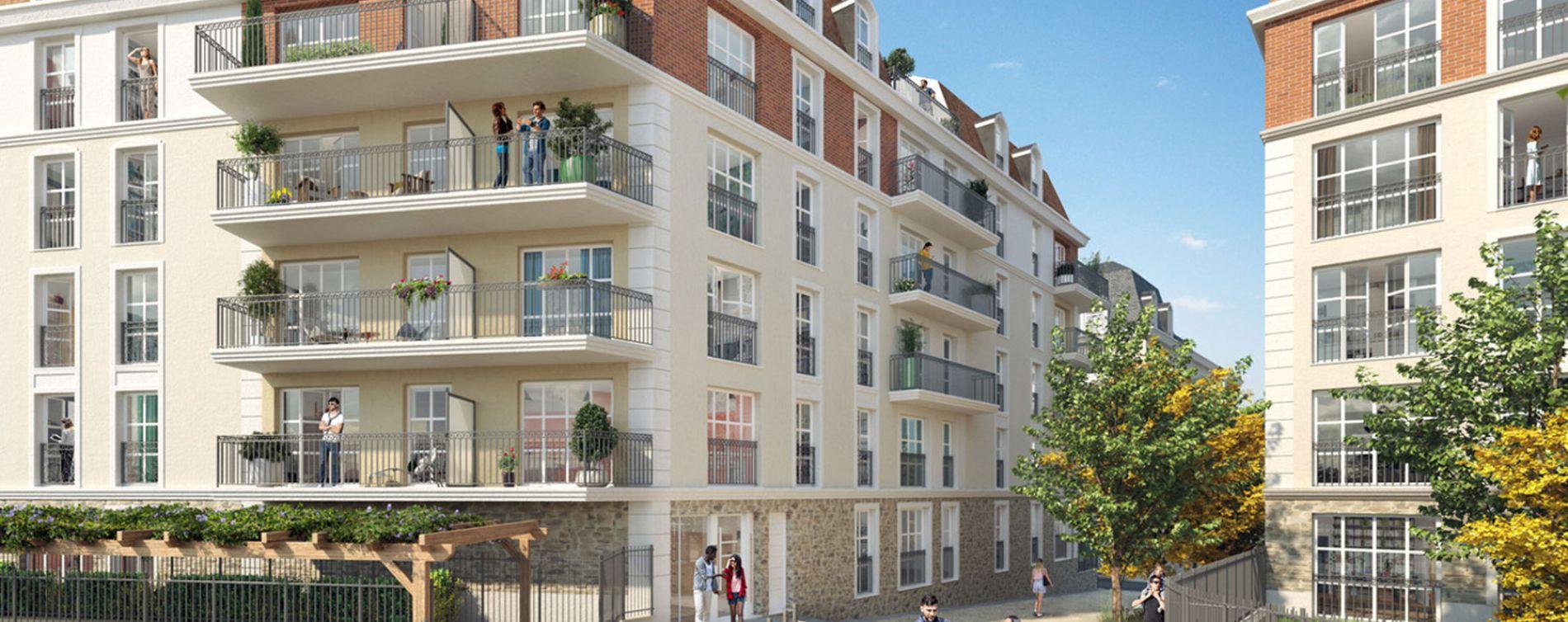 Chelles : programme immobilier neuve « Faubourg Canal » (3)