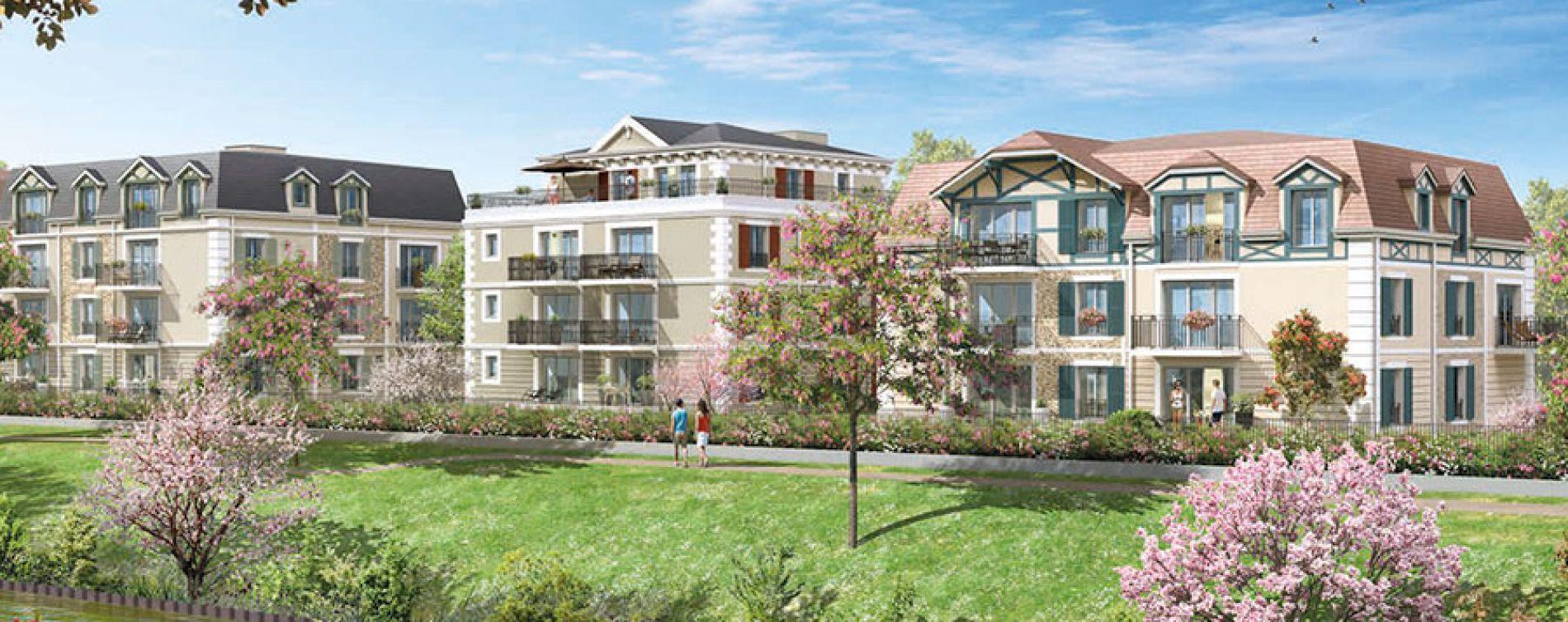Chelles : programme immobilier neuve « Le Clos du Canal »