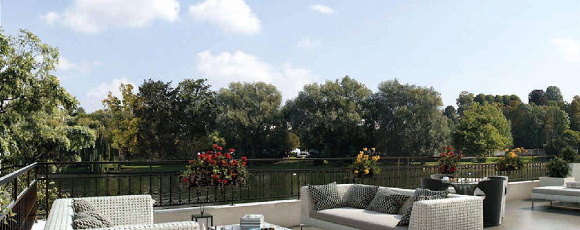 Chelles : programme immobilier neuve « Le Clos du Canal » (3)