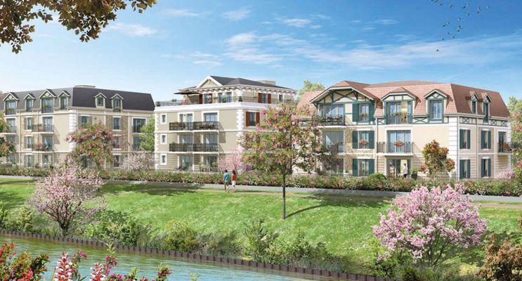 Photo du Résidence « Le Clos du Canal » programme immobilier neuf à Chelles