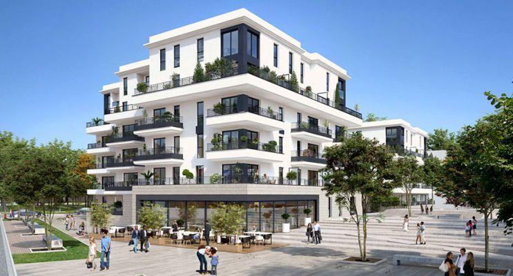 Photo du Résidence « Les Terrasses de L'abbaye » programme immobilier neuf en Loi Pinel à Chelles