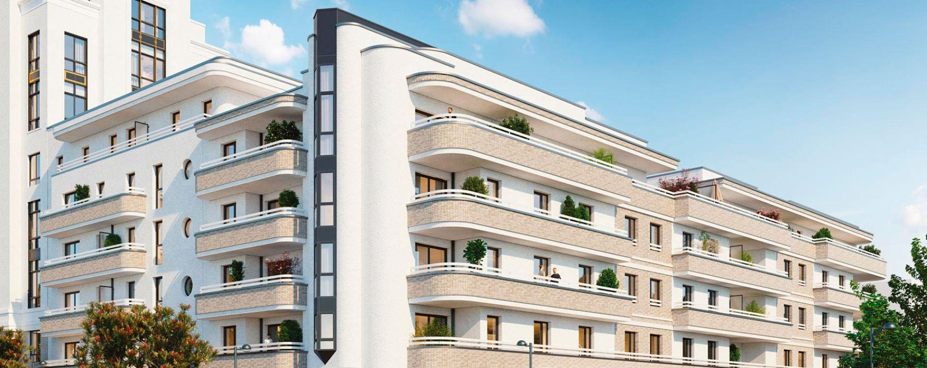 Chessy : programme immobilier neuve « Summertime - Sunshine » en Loi Pinel