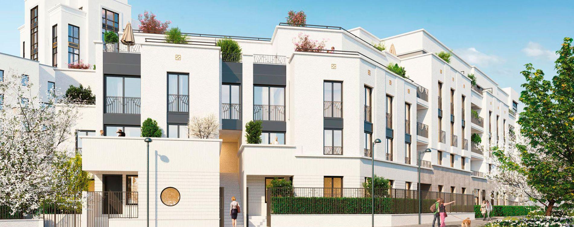 Chessy : programme immobilier neuve « Summertime - Sunshine » en Loi Pinel (4)