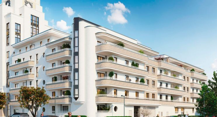 Chessy : programme immobilier neuf « Summertime - Sunshine » en Loi Pinel