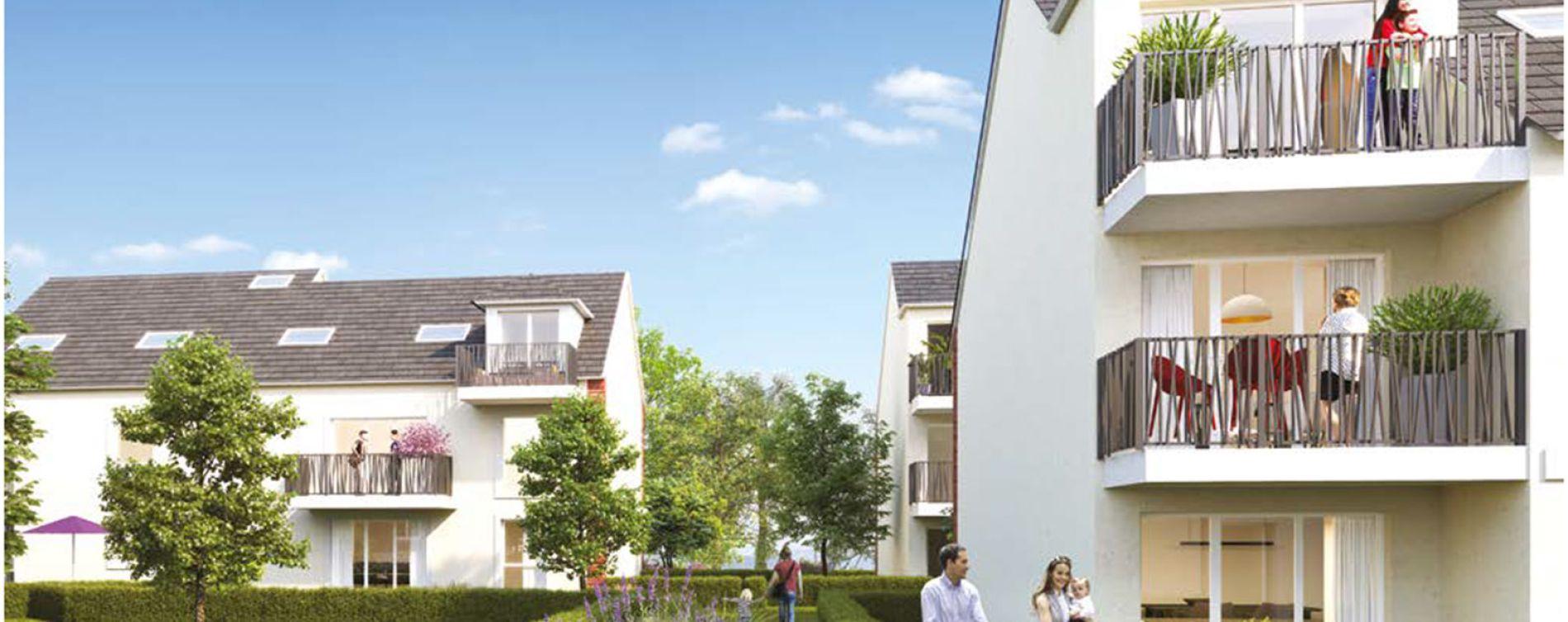 Chevry-Cossigny : programme immobilier neuve « Le Domaine des Arts »