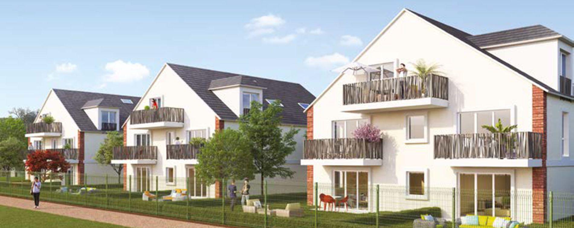Chevry-Cossigny : programme immobilier neuve « Le Domaine des Arts » (2)